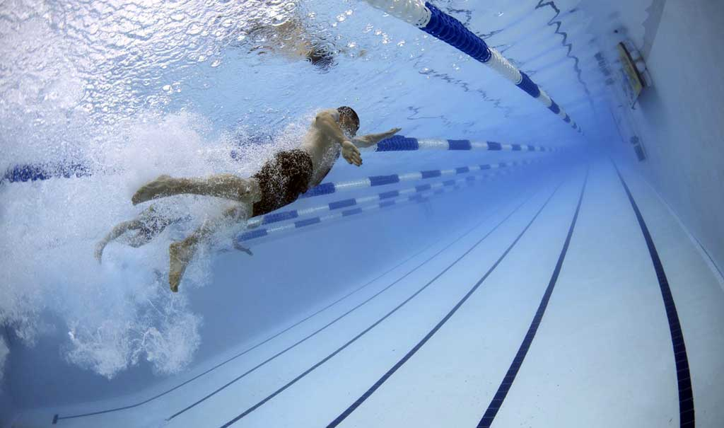 Competitive Swimming Header Image